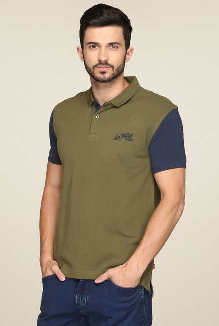 Levi's Olive Regular Fit T-Shirt