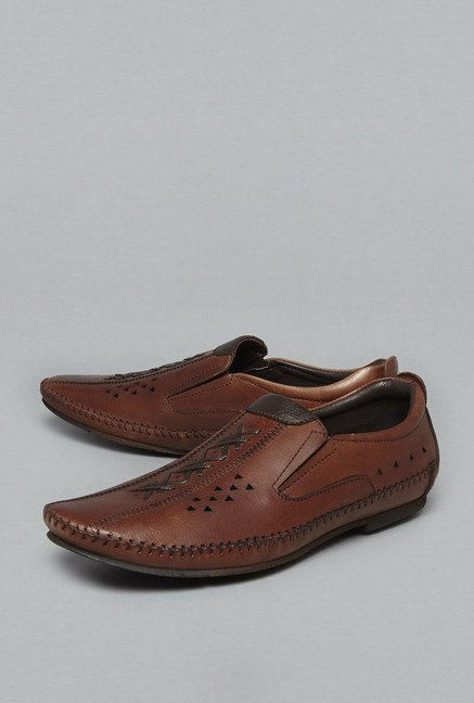 a19ab1789c0 Buy David Jones by Westside Brown Loafers For Men Online At Tata CLiQ