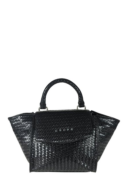 Cross Granada Black Small Trapeze Handbag