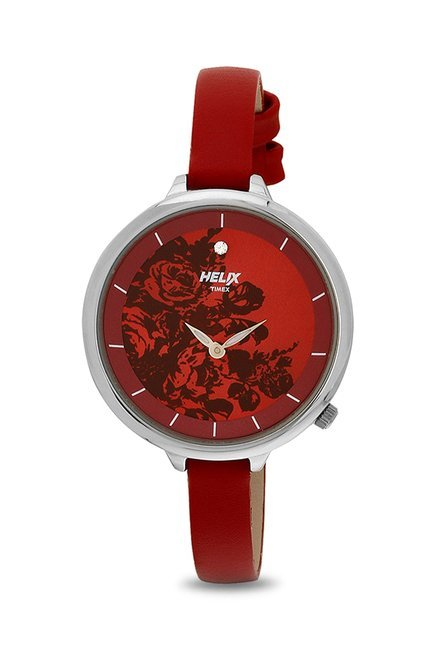 Timex TW013HL07 Helix Analog Watch for Women