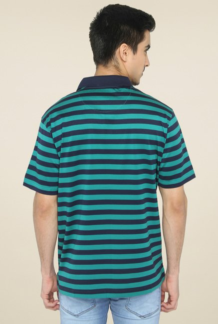 Jadeblue Green Striped T-Shirt