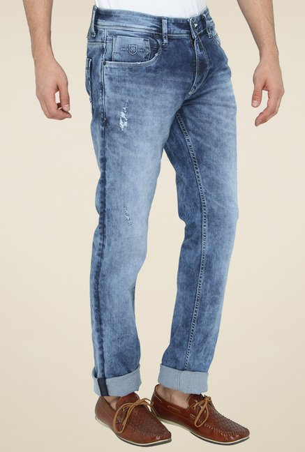 Greenfibre Light Blue Mid Rise Jeans