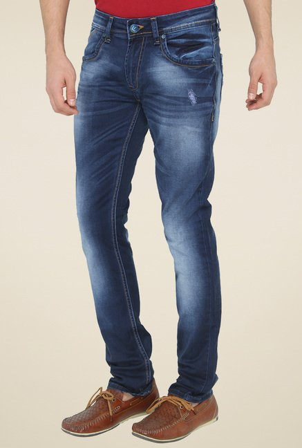 Greenfibre Blue Slim Fit Jeans