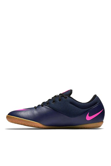 sale retailer 4bfdf 8adac Nike Mercurialx Mid Navy & Pink Sneakers