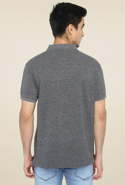 Greenfibre Grey Half Sleeves T-Shirt