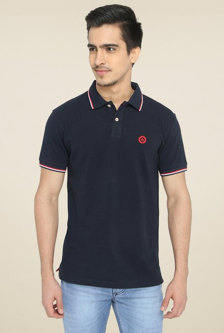 Greenfibre Dark Blue Polo T-Shirt