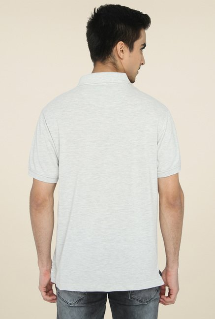 Greenfibre Light Grey Polo T-Shirt