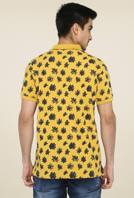 Greenfibre Yellow Floral T-Shirt
