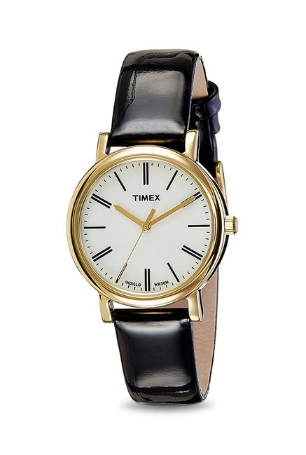 Timex T2P3716S Indiglo Analog Watch for Women