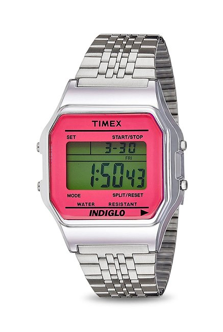 Timex TW2P650006S Indiglo Digital Watch for Women