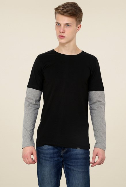 Rigo Black Slim Fit T-Shirt