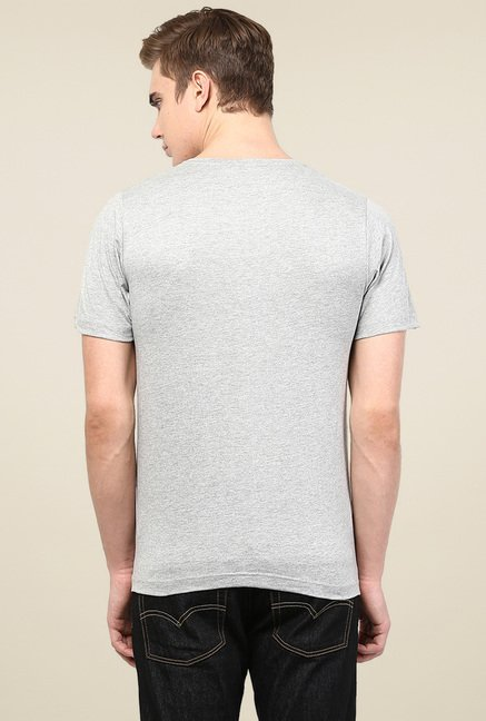 Rigo Grey Short Sleeves T-Shirt