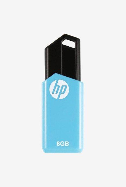 HP V150W 8 GB USB 2.0 Flash Drive (Blue)