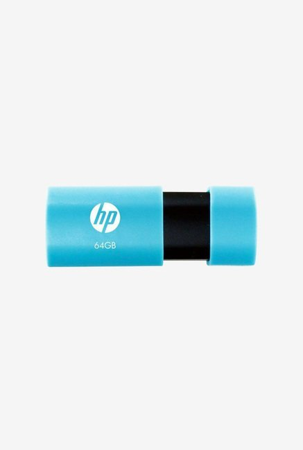 HP V152W 64  GB USB 2.0 Flash Drive  Blue