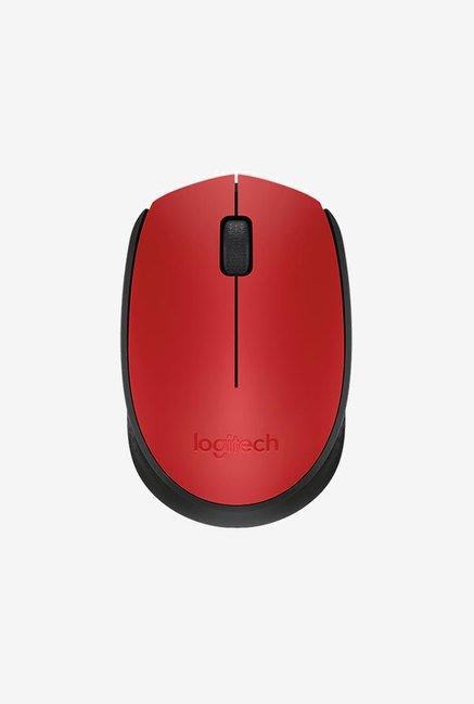 Logitech M171 Wireless Mouse  Red  Logitech Electronics TATA CLIQ
