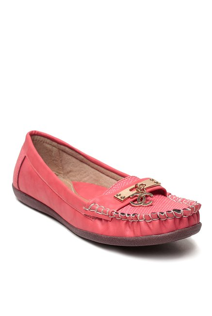 Lishabee by MSC Light Red Loafers