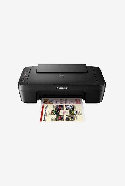 Canon PIXMA E470 Multi Function Inkjet Printer  Black