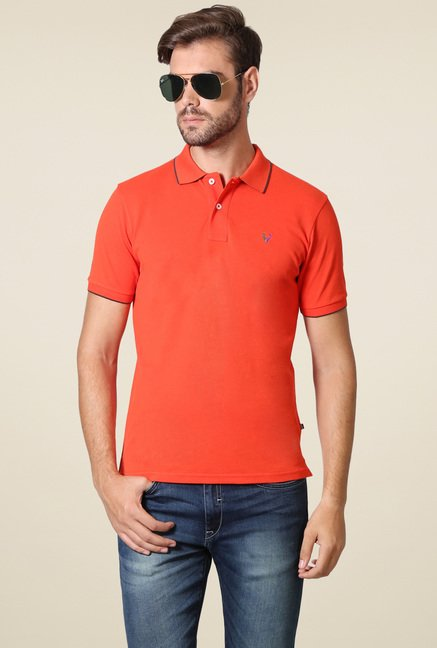 Allen Solly Coral Regular Fit T-Shirt