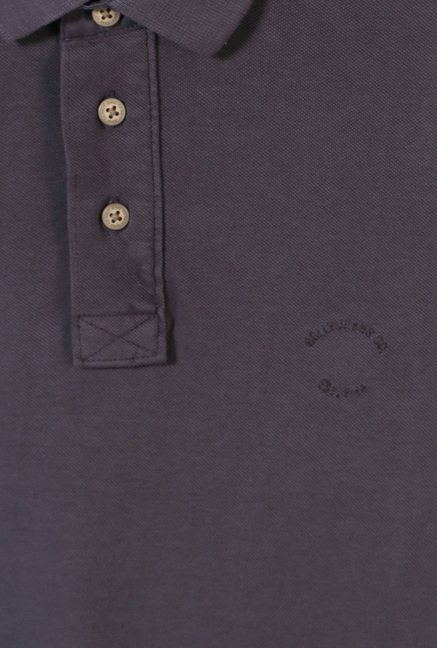 Allen Solly Mauve Regular Fit Polo T-Shirt