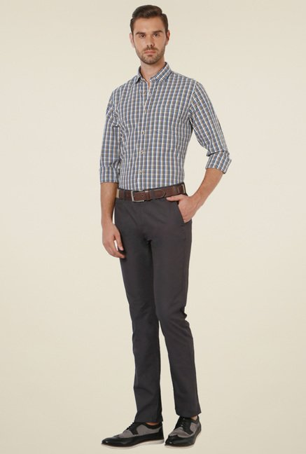 Peter England Multicolor Full Sleeves Shirt
