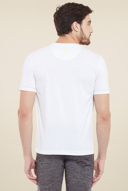 Duke White Regular Fit T-Shirt