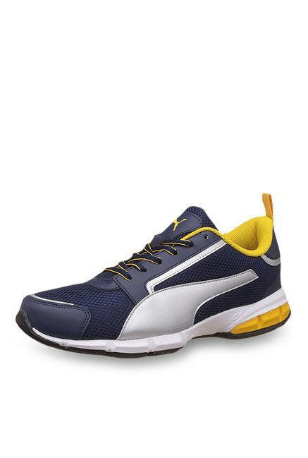 Puma Triton IDP Peacoat & Silver Running Shoes price in India