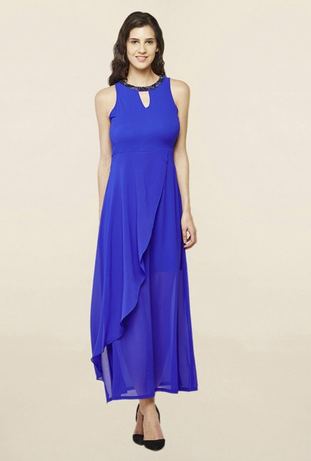 AND Blue Maxi Dress