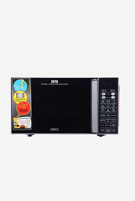 IFB 23SC3 23 L Convection Microwave Oven  Metallic Silver