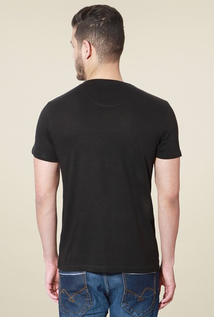 People Black Crew Neck T-Shirt