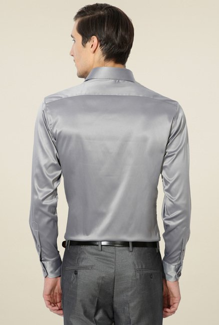 Van Heusen Grey Regular Fit Shirt