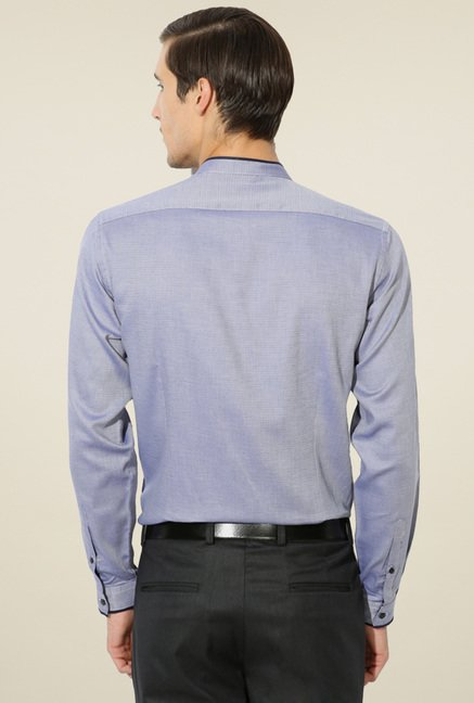 Van Heusen Lavender Regular Fit Shirt