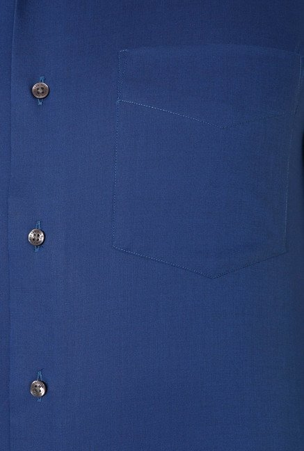 Van Heusen Royal Blue Custom Fit Shirt