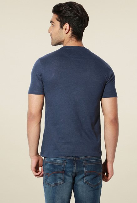 Van Heusen Navy Crew Neck T-Shirt