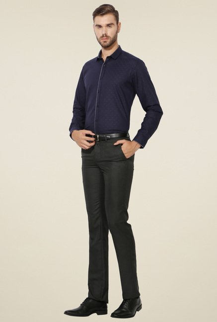 Van Heusen Navy Regular Fit Shirt