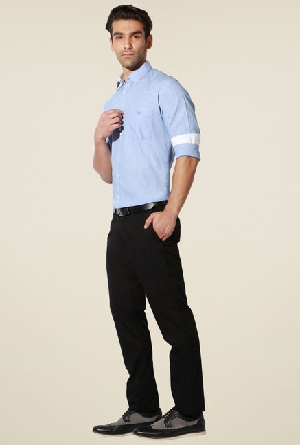 Van Heusen Light Blue Slim Fit Shirt