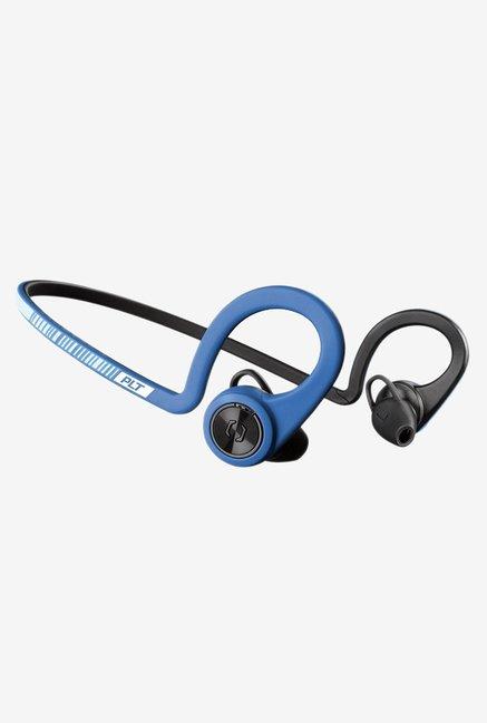 Plantronics Backbeat Fit Wireless Bluetooth Headset (Black & Blue)