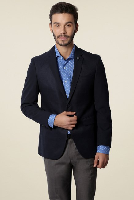 Van Heusen Navy Ultra Slim Fit Blazer
