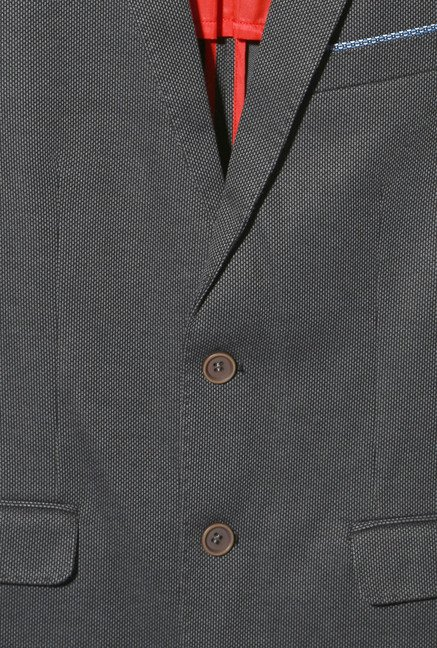 Van Heusen Dark Grey Slim Fit Blazer