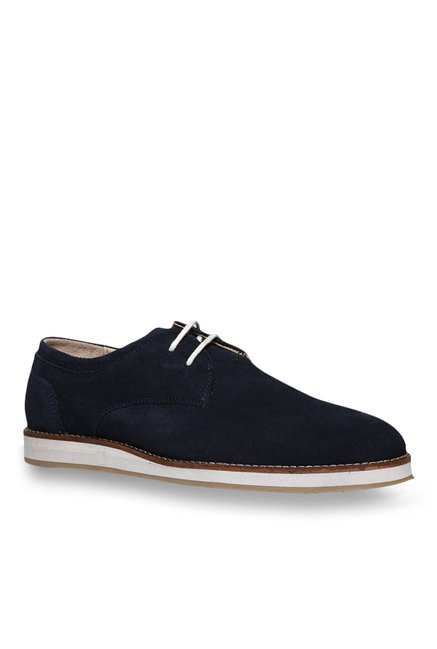 620c639246ca Buy Footin by Bata Navy Derby Shoes for Men at Best Price   Tata ...