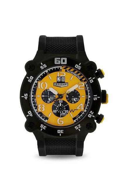Titan 1611NP01 Squadron Analog Watch for Men