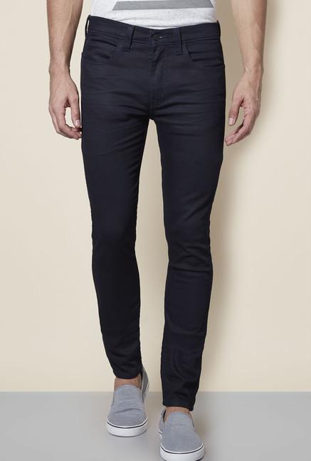 5b41e13be22 Buy Levi s Black Skinny Fit Jeans for Men Online   Tata CLiQ