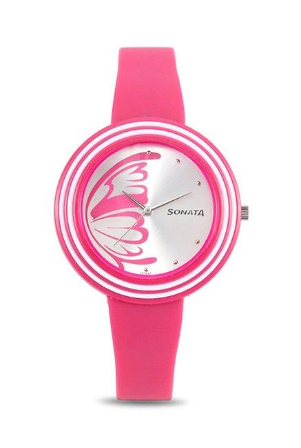 Sonata NJ8995PP01CJ Analog Watch for Women