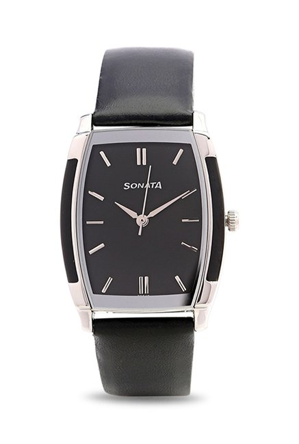 Sonata NJ7080SL02C Analog Watch for Men image