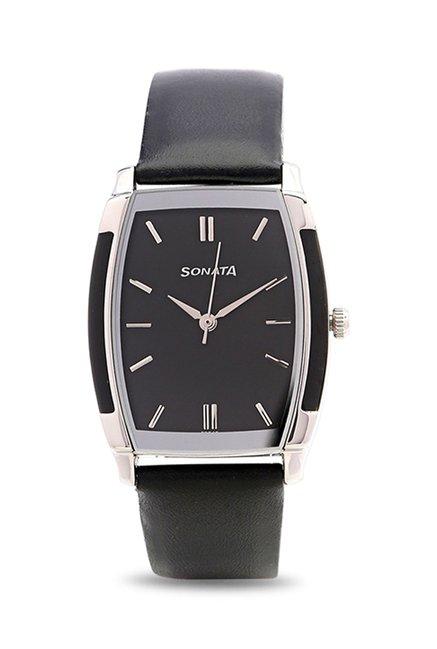 Sonata NJ7080SL02C Analog Watch for Men