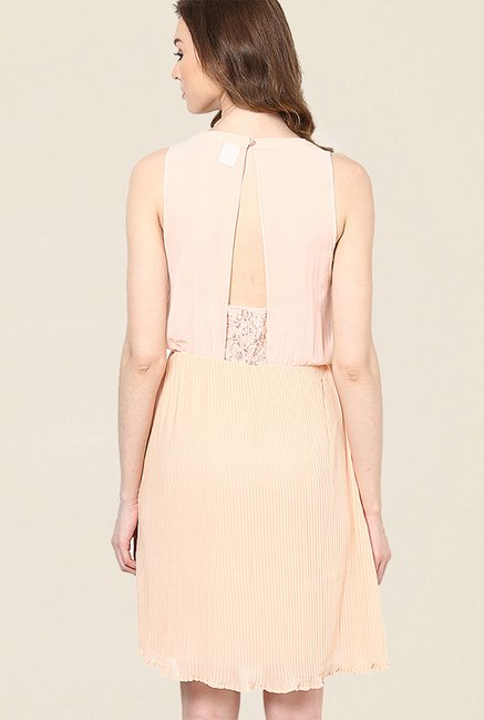 Vero Moda Peach Lace Dress