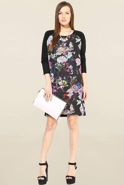 Only Black Printed Dress