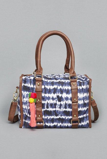 b7766ed983 Buy Westside Navy Ekta Satchel Bag for Women Online   Tata CLiQ