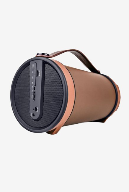iball Musi Barrel BT31 Bluetooth Speaker (Brown)