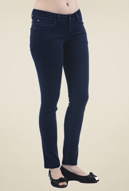 Pepe Jeans Dark Blue Slim Fit Jeans