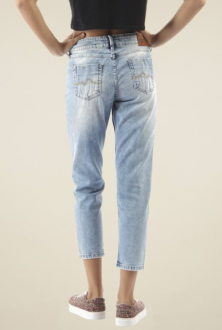 Pepe Jeans Light Blue Low Rise Jeans